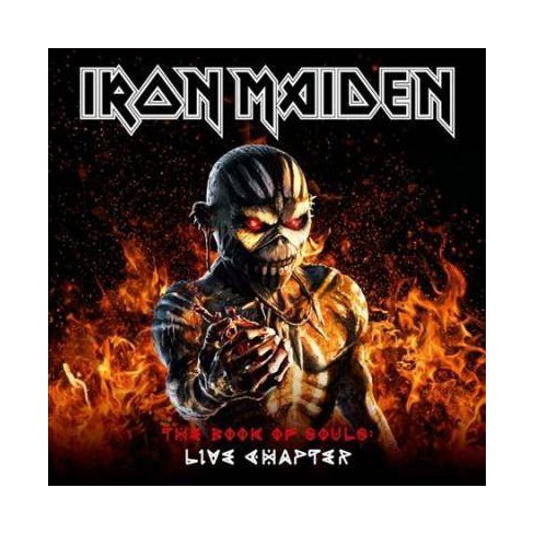 Iron Maiden - Book of Souls: The Live Chapter 16/17 (CD) - image 1 of 1