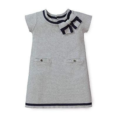 Hope & Henry Girls' Milano Tipped Sweater Dress, Infant
