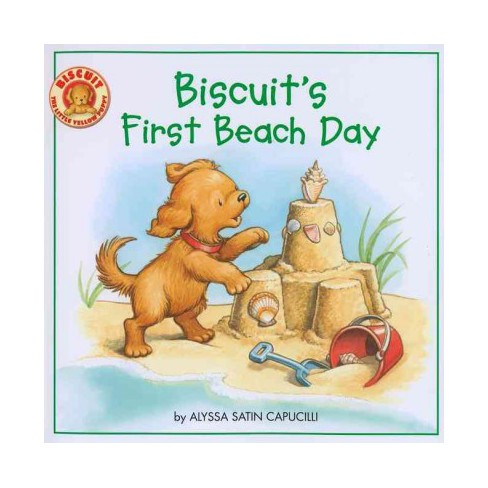 Biscuit's First Beach Day - by  Alyssa Satin Capucilli (Paperback) - image 1 of 1