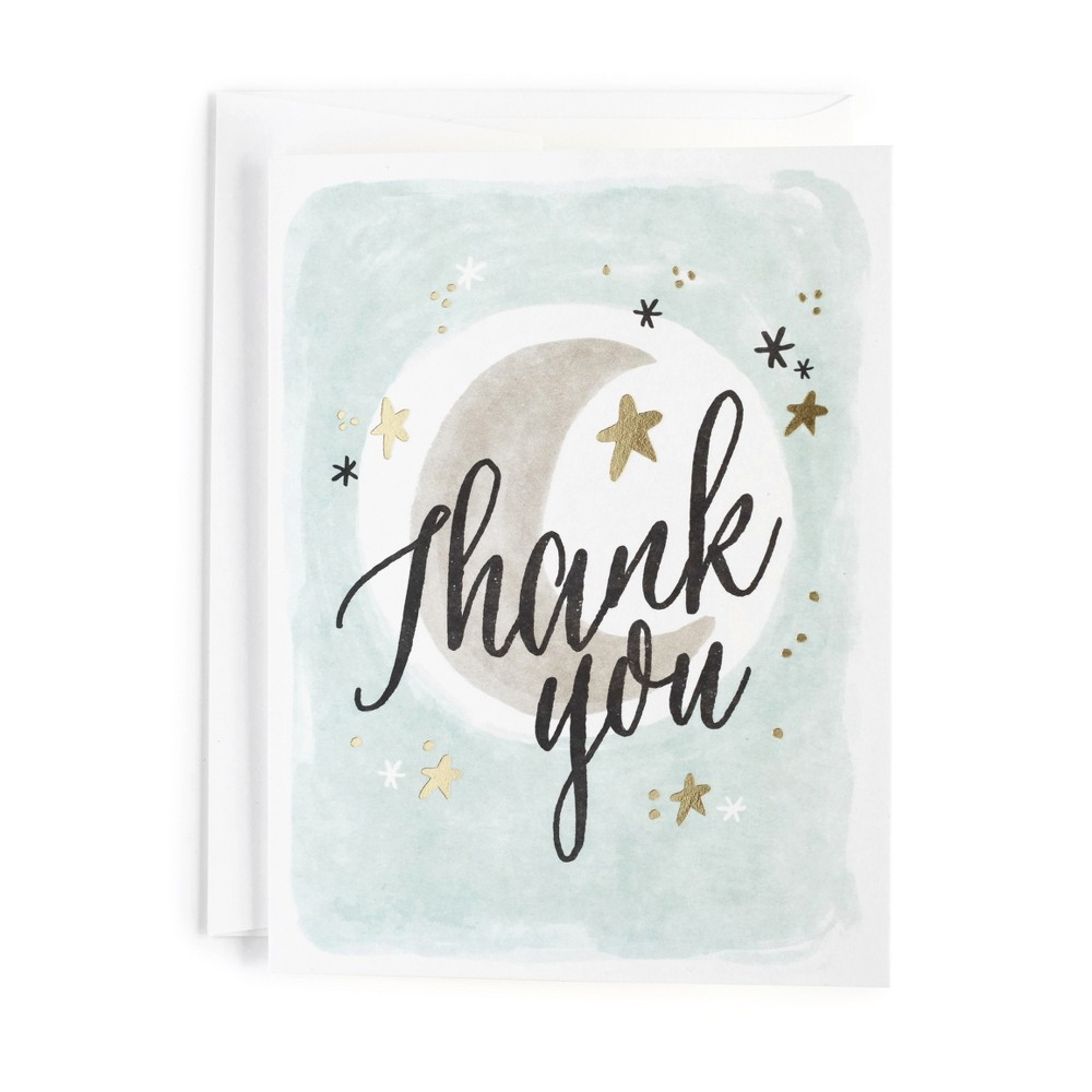 10ct Moonlight Print Thank You Cards - Minted, Multi-Colored
