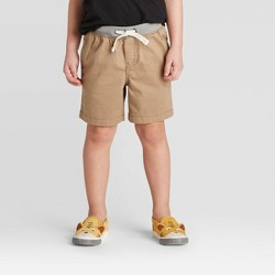 Toddler Boys' Chino Shorts - Cat & Jack™ Tan