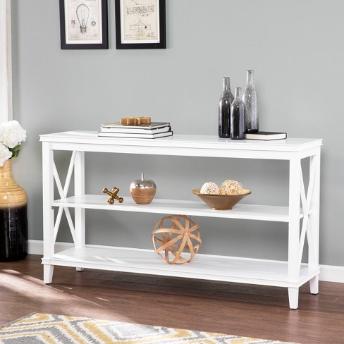 Lavellan Console Table with Storage White - Aiden Lane - image 1 of 4