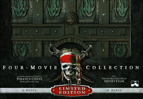 Pirates of the caribbean four movie c (Blu-ray) - image 1 of 1
