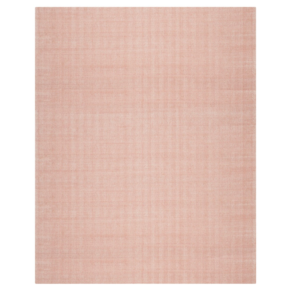 Red Solid Woven Area Rug - (8'X10') - Safavieh