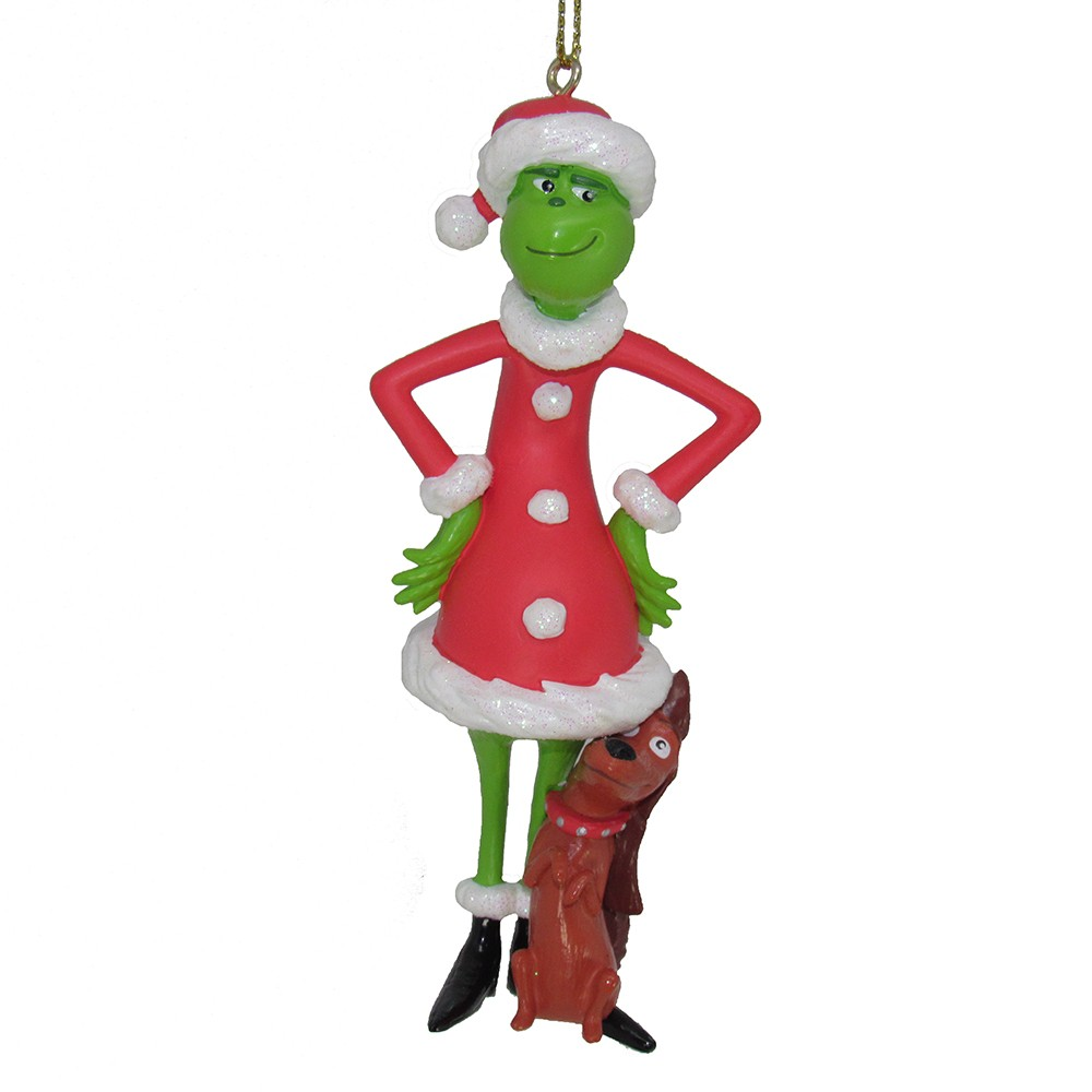 Image of A Christmas Story Grinch Christmas Tree Ornament, Multi-Colored