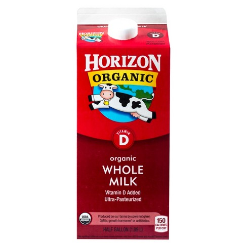 Horizon Organic Whole Milk - 0.5gal - image 1 of 3