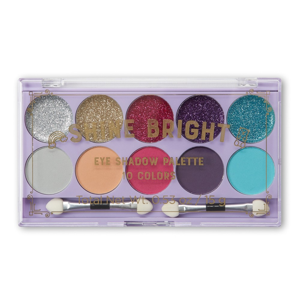 Image of Tri-Coastal Design Glitter Eye Palette Metallic - 0.6oz
