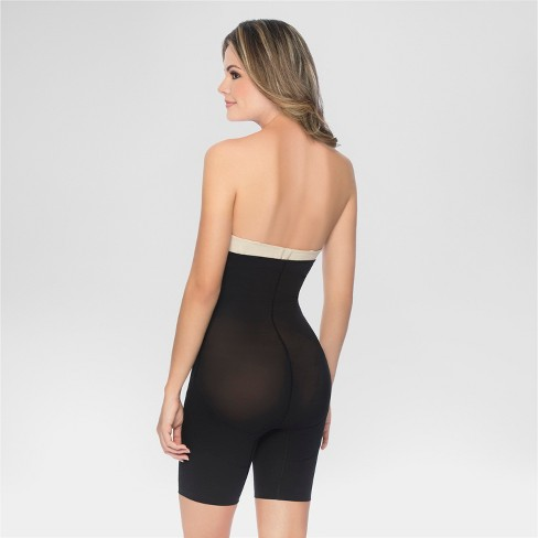 ce361a81bc Annette Women s Faja Extra Firm Control High Waisted Mid-Thigh Shaper with  Invisible Zipper