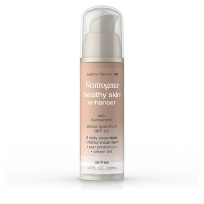 Neutrogena Healthy Skin Enhancer Sheer Face Tint with Retinol & Broad Spectrum SPF 20 - 1 fl oz