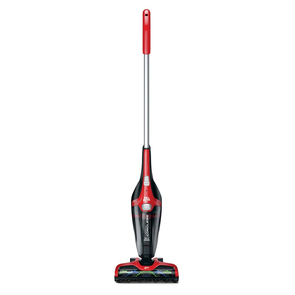Image of Dirt Devil Versa 3-in-1 Cordless Stick Vacuum, Red