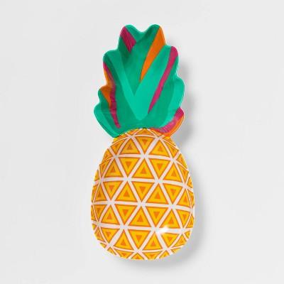 54oz Plastic Pineapple Serving Bowl - Sun Squad™
