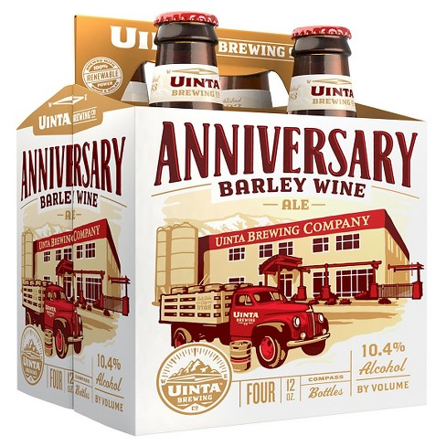 Uinta Anniversary Barley Wine - 4pk/12 fl oz Bottles - image 1 of 1