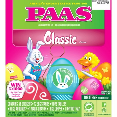 Easter PAAS Classic Egg Decorating Kit - image 1 of 1