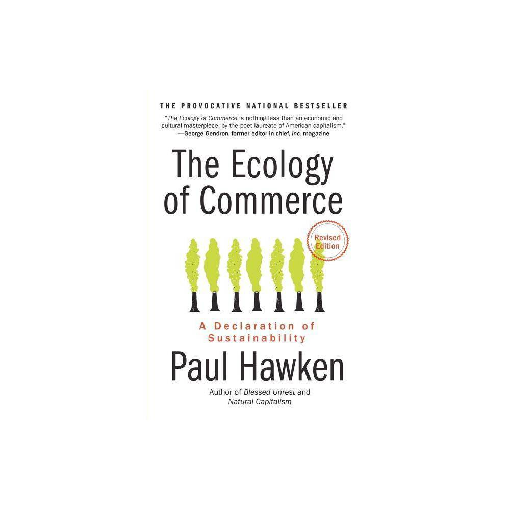 The Ecology Of Commerce Collins Business Essentials By Paul Hawken Paperback