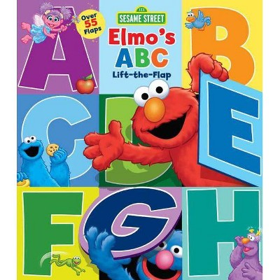 Sesame Street: Elmo's ABC Lift-The-Flap, 29 - 2nd Edition by  Lori C Froeb (Board Book)