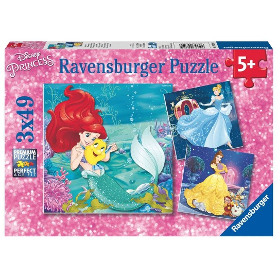 Ravensburger Princesses Puzzles 147pc, Kids Unisex image number null
