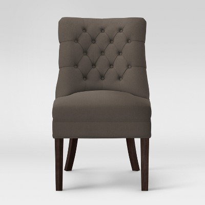 Winslow Tufted Back Slipper Chair Gray - Threshold™