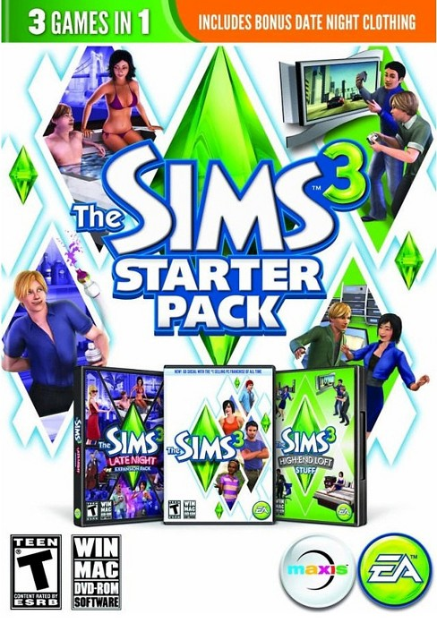The Sims 3: Starter Pack - PC/Mac Game Digital - image 1 of 1