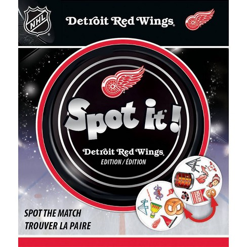 NHL Detroit Red Wings Spot It Game - image 1 of 3