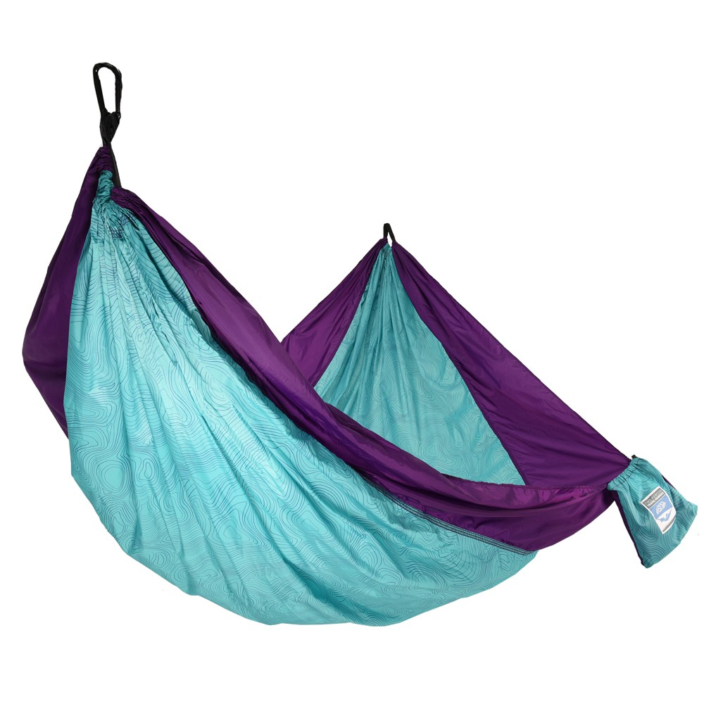 Image of Equip 2 Person Travel Hammock - Teal, Blue