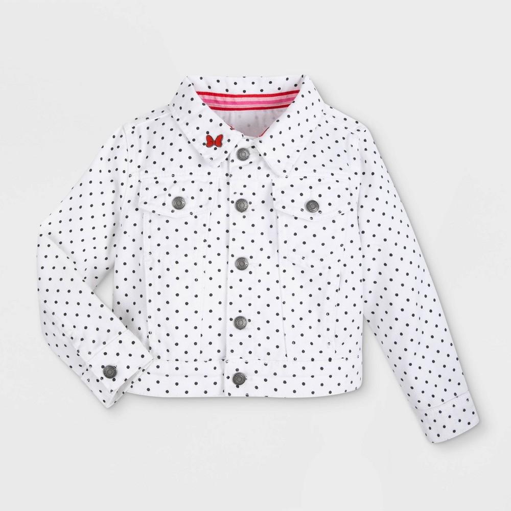Girls 39 Disney Minnie Mouse Jean Jacket Red 5 6 Disney Store