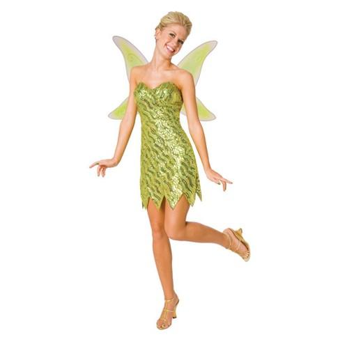 Women s Sequin Deluxe Tinkerbell Costume   Target b269c76cc6