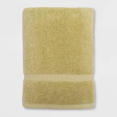 Soft Solid Bath Towel Green - Opalhouse™