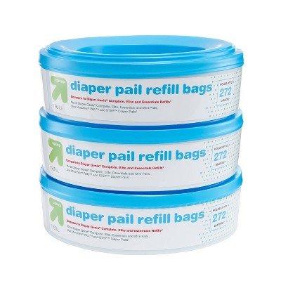 Diaper Pail Refill Bags - 3pk - up & up™