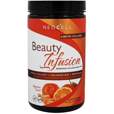 NeoCell Beauty Infusion Refreshing Collagen Drink Mix Cranberry Cocktail 6000 Supplement