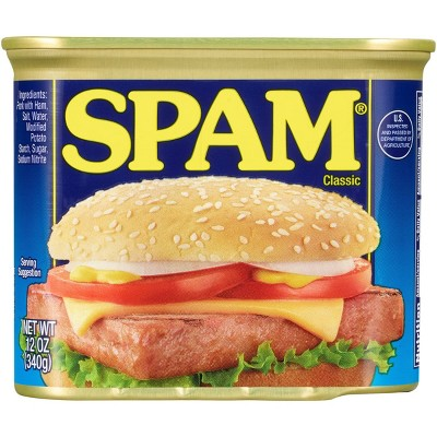 SPAM Classic Lunch Meat - 12oz