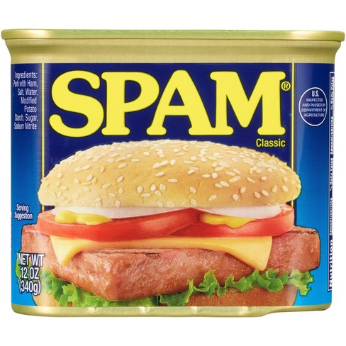 SPAM Classic Lunch Meat - 12oz - image 1 of 4