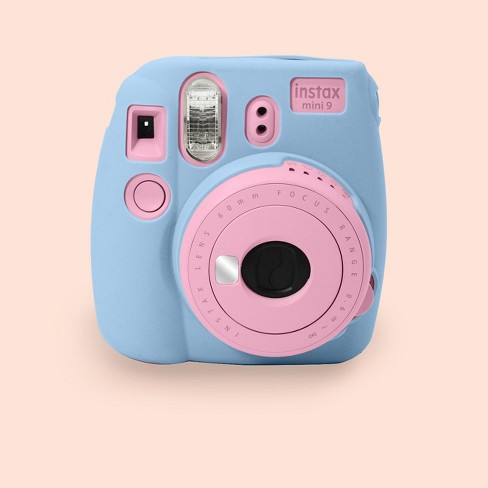 new styles 7a0a7 cc95d ATNY Instax Instant Camera Silicone Case - Blue