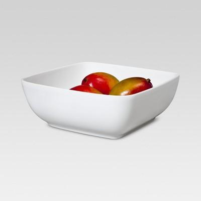 Square Serving Bowl 12in Porcelain - Threshold™