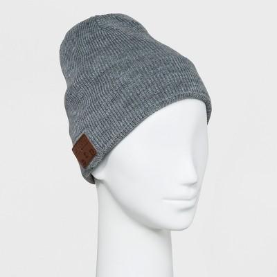 87a32bd424f3e Accessory Innovation Bluetooth Fleece Line Beanie – Gray – Target ...