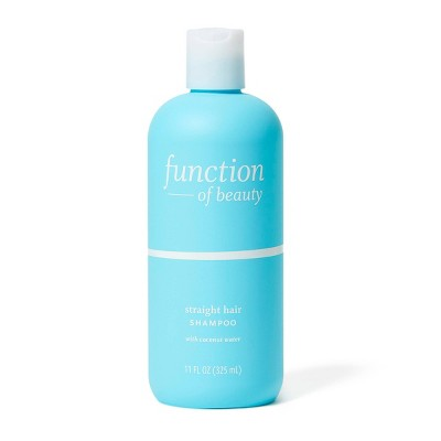 Function of Beauty Straight Hair Shampoo Base with Coconut Water - 11 fl oz