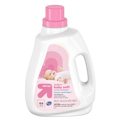 Baby HE Liquid Laundry Detergent 100oz - 64 loads - Up&Up™