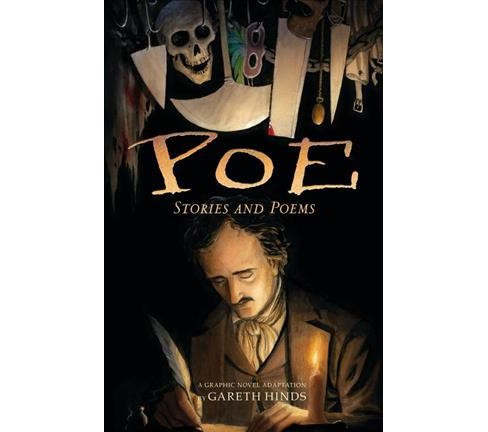 Poe : Stories and Poems--A Graphic Novel Adaptation -  by Gareth Hinds (Paperback) - image 1 of 1