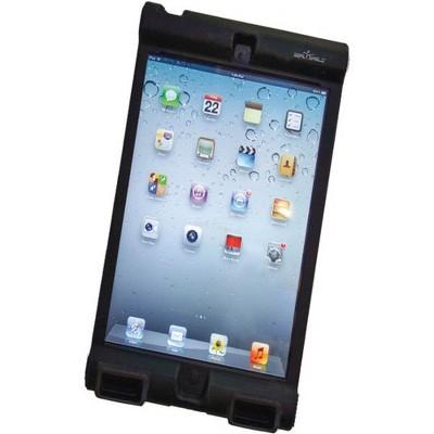 Seal Shield Bumper Case iPad Mini - Antimicrobial Product Protection - For Apple iPad mini Tablet - Black