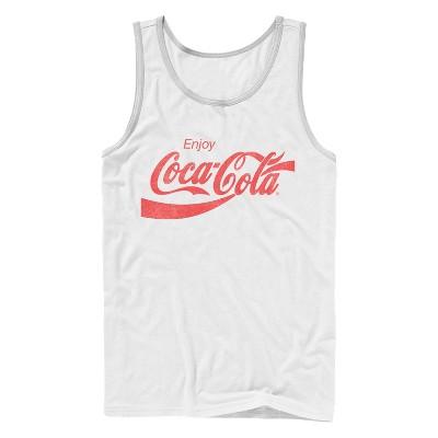 Men's Coca Cola Enjoy Logo Tank Top