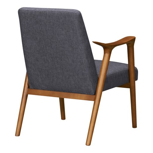 Fine Pelisium Mid Century Accent Chair Beige Modern Home Pabps2019 Chair Design Images Pabps2019Com
