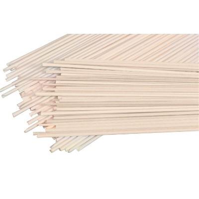 Artstraws Street Paper Unwaxed Artstraws, 4 Millimeter, White, pk of 1800