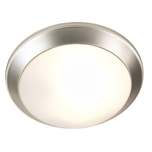 Lite Source Flush Mount Ceiling Light - Silver - image 1 of 1