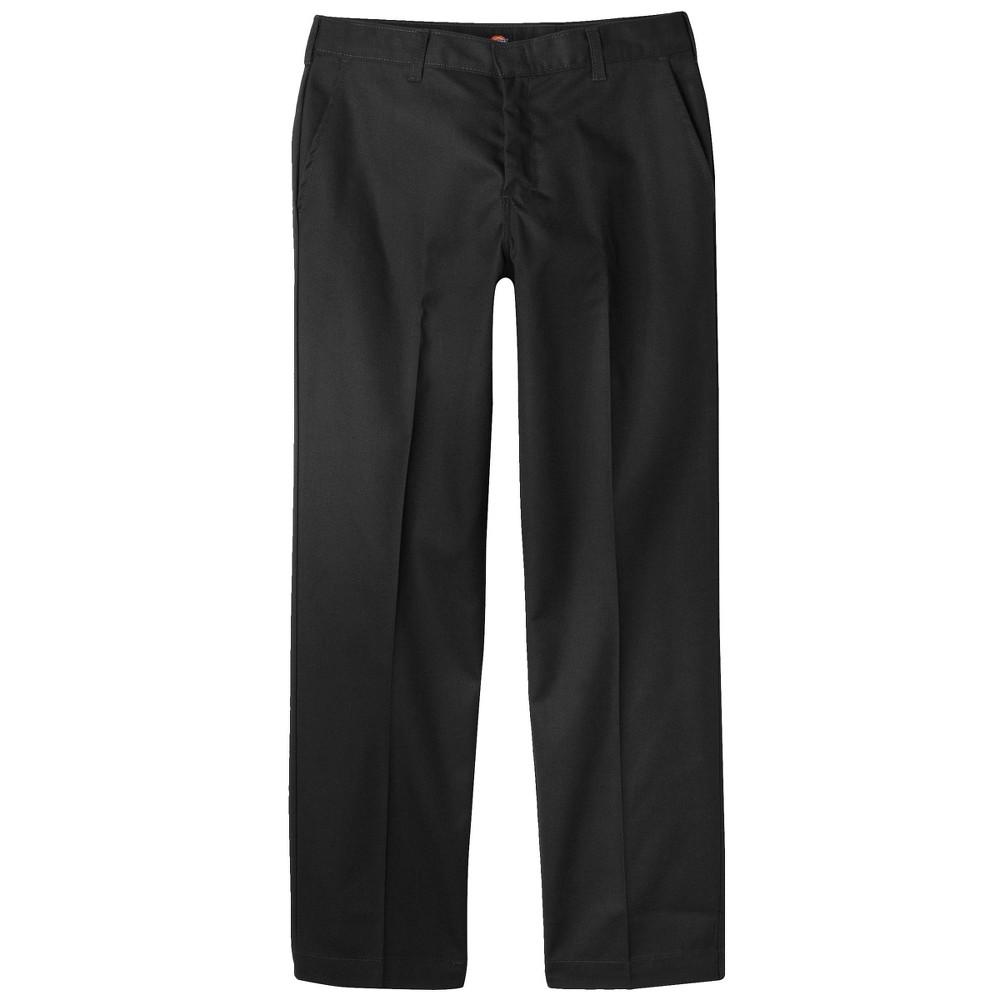 Dickies Boys' Classic Fit Uniform Twill Pants - Black 34x34