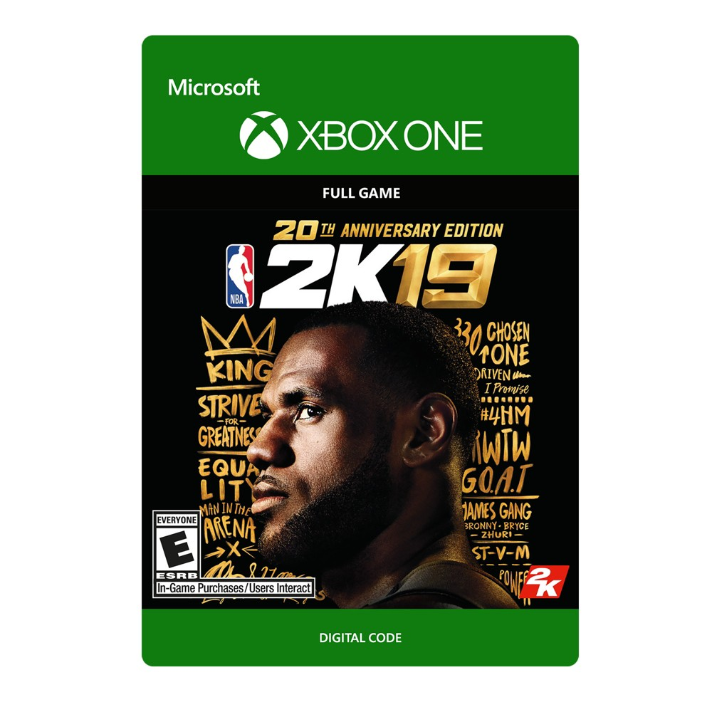 NBA 2K19: 20th Anniversary Edition - Xbox One (Digital)