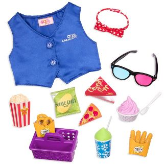 Our Generation Pegged Accessory - Cinema Lover Movie Set