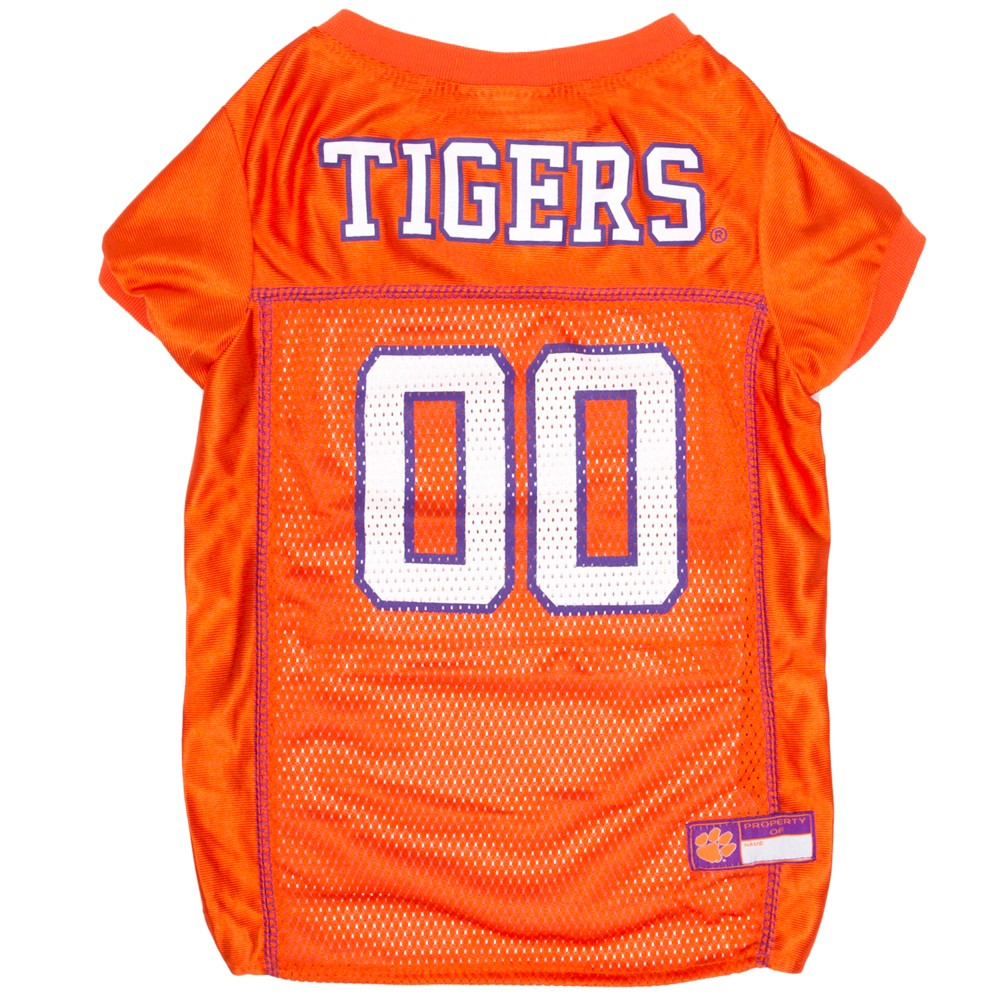 Pets First Clemson Tigers Mesh Jersey - L, Multicolored