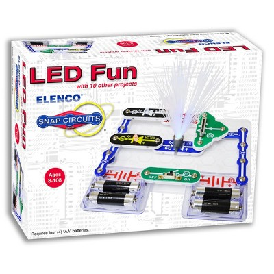 Snap Circuits LED Fun Electronic Circuit Science Set