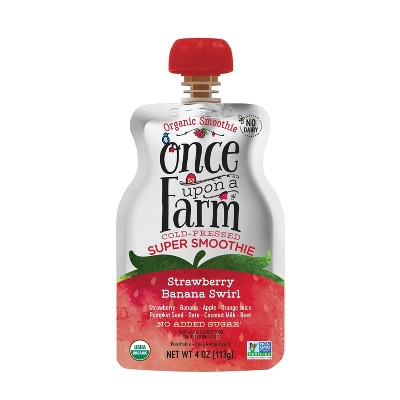 Baby Food: Once Upon a Farm Storybook Super Smoothie