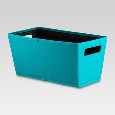 Fabric Quarter Bin - Teal - Threshold™