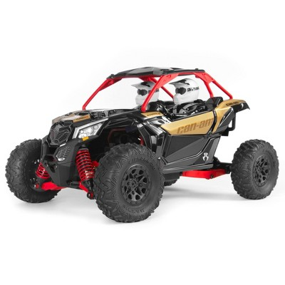 Axial RC Truck 1/18 Yeti Jr. Can-Am Maverick 4WD Brushed RTR (Everything needed to run is Included), AXI90069